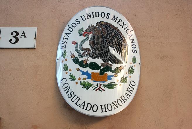 Mexikanska konsulatet i Tallinn om jag inte helt missförstått saken.