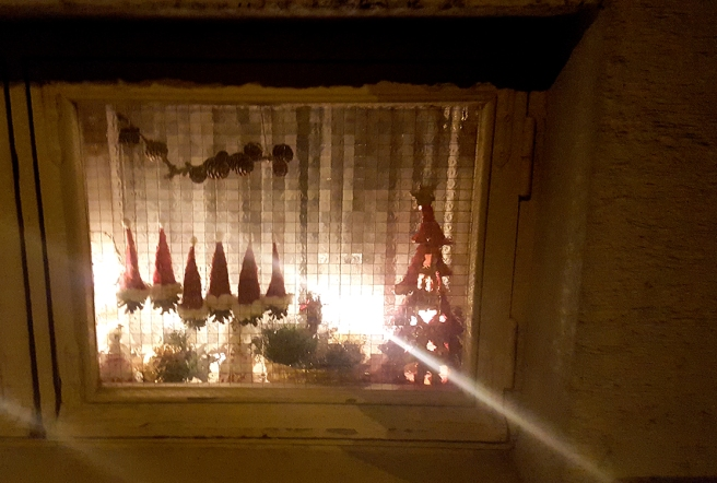 Efterdyningar av julen.
