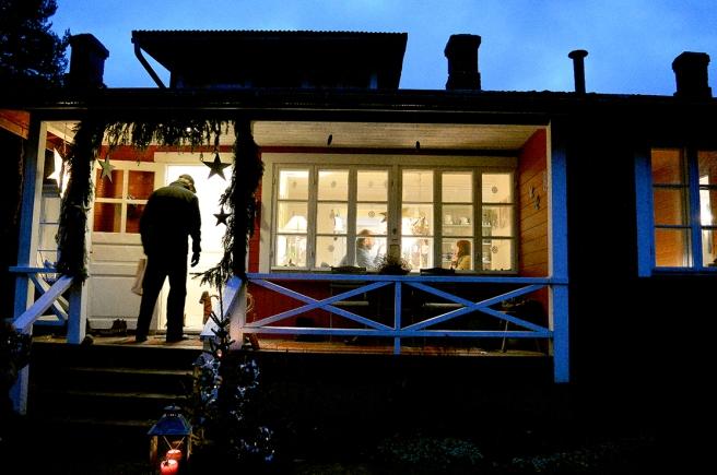 Kungsdammens veranda och mysig kaffestund.