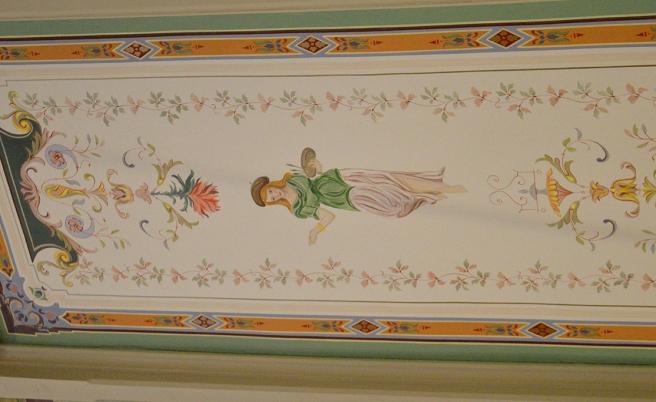 En närbild av taket som du ser också på den första bilden.