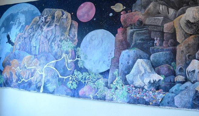 Fantasin har fått flöda och färgskalan är harmonisk.