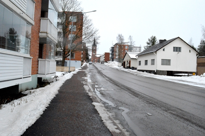 Den här vägen kan jag också ta till jobbet, Chiewitzgatan.