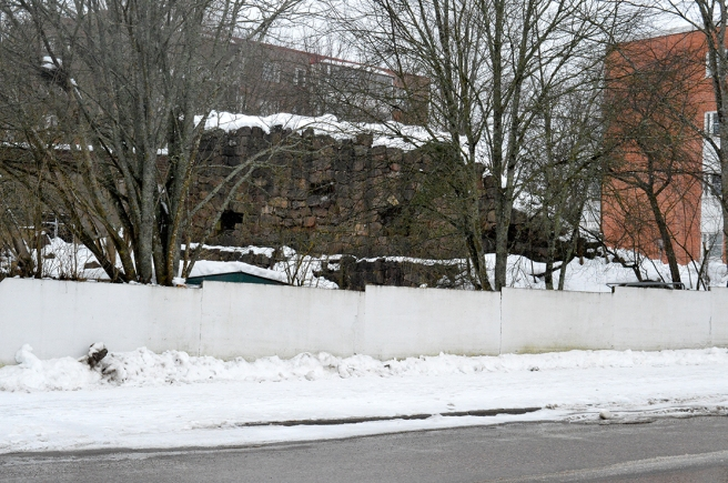 Lovisa har varit en fästningsstad.
