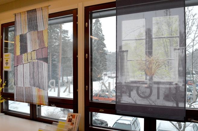 Biblioteksfönster i Vårberga.