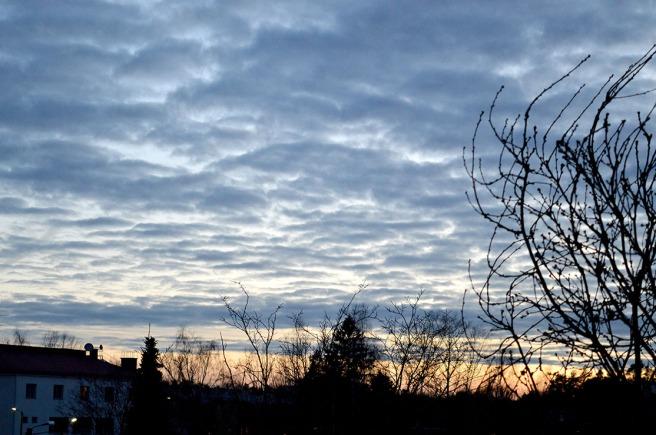 Bortom molnen är himlen alltid blå.