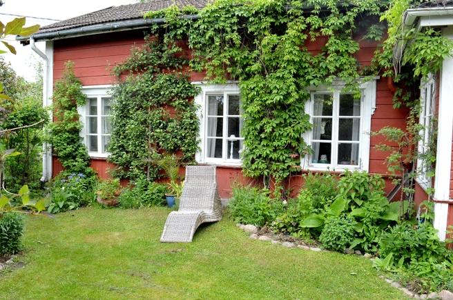 Även de som har trädgårdar lägger sig ner och njuter och vilar ibland.