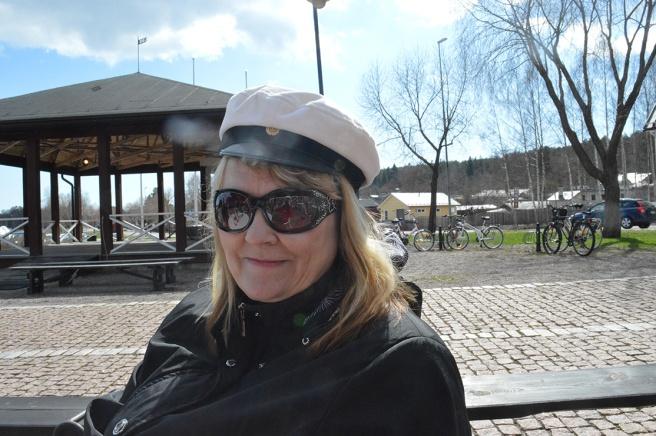 Och så här såg jag ut. Glad första maj! Foto: Marina Tolonen