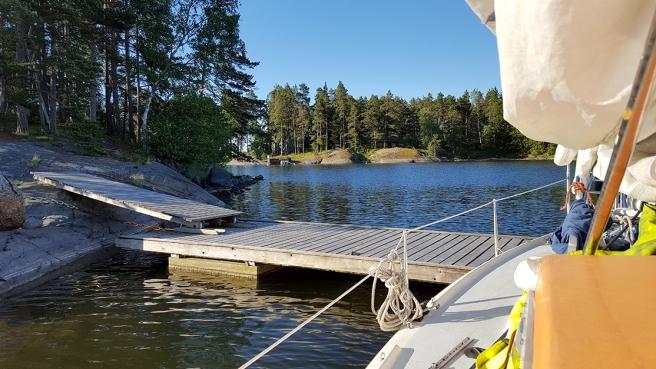 Utsikt åt andra hållet i samma lagun.