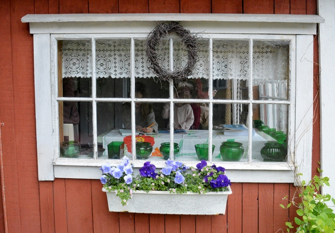 En mysig liten kaffestuga i Pernå.