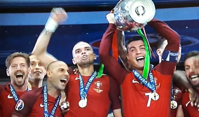 Jättegrattis till första EM-guldet, Portugal <3