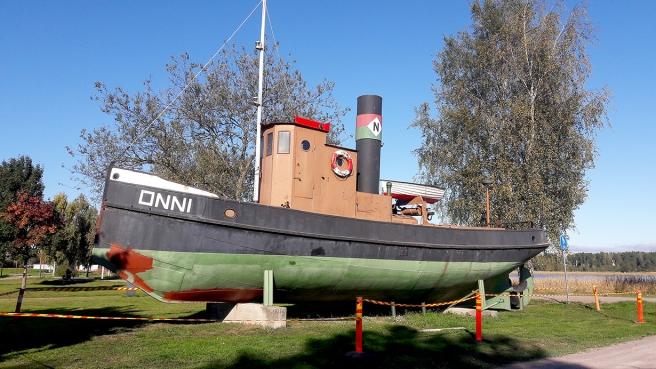 Museibåten Onni restaureras i år.