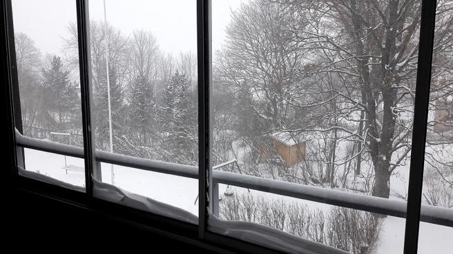 Utsikten från min balkong den 9 november.