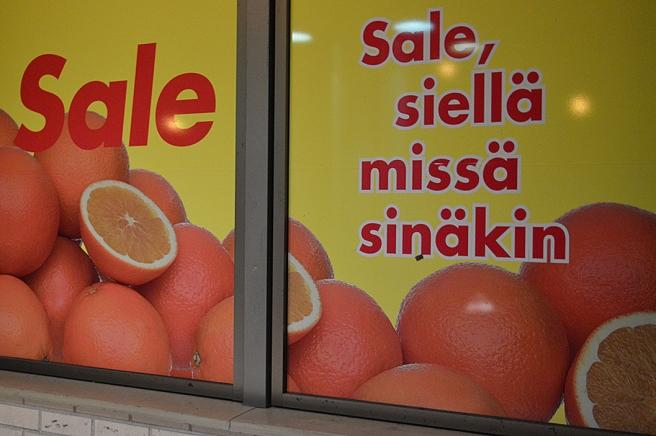 Sale - finns där som också du är.