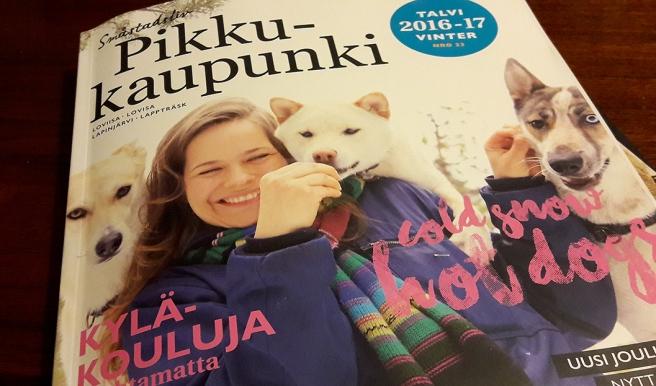 Tidningen Småstadsliv/Pikkukaupunki är en underbar tidskrift som kommer ut ett par gånger per år.
