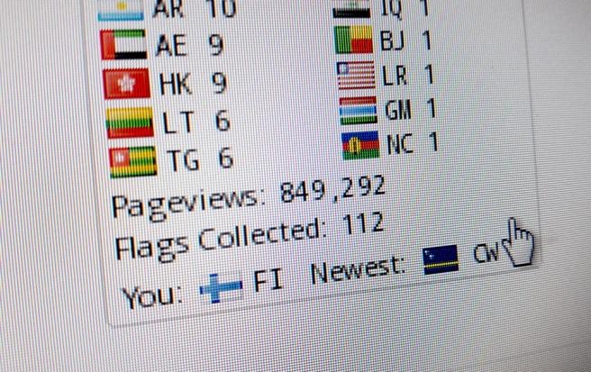 Sedan den 12 juli 2011 har jag haft 849.292 sidvisningar.