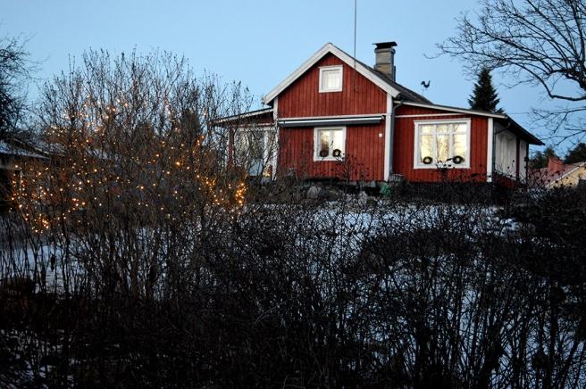 Stengård i Pernå kyrkoby.