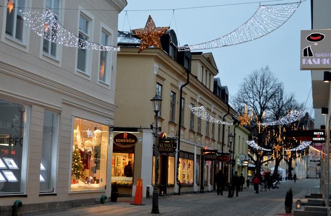 En gata i närheten av Stora Torget.