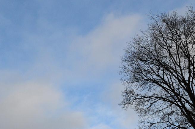 En klassisk bild av en himmel. Fint att det inte var helmulet hela dagen :-)