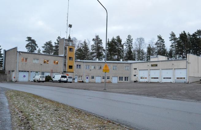 Fint att vi ännu har brandstation kvar i Lovisa.