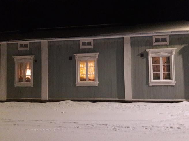 Hus vid Mariegatan.