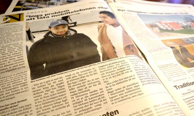 En av mina artiklar i dagens Nya Östis.