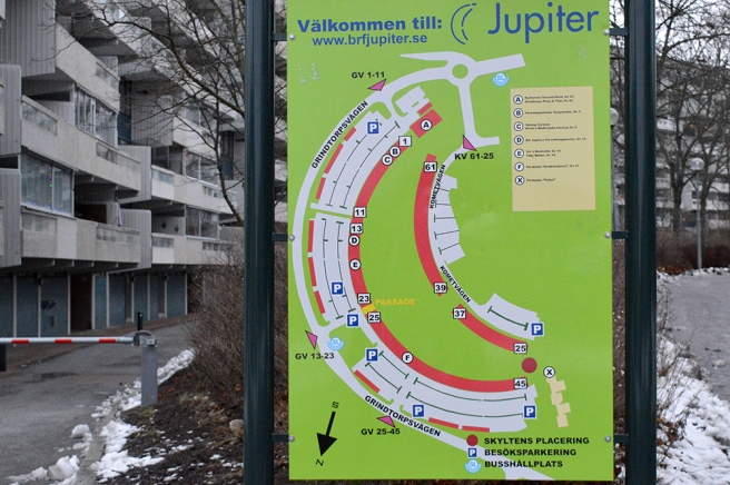 Ett minne från Grindtorp i Täby i norra Stockholm.