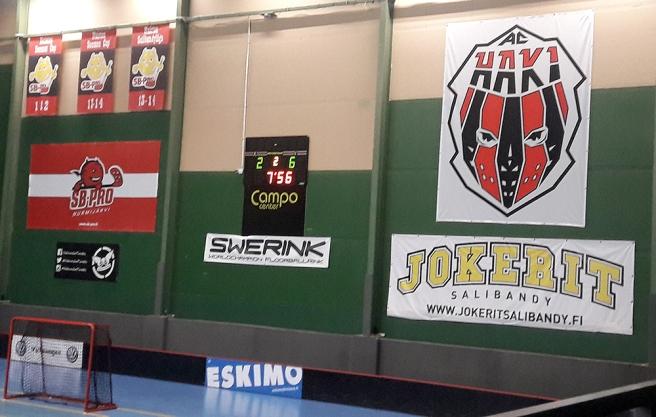 Här i Campo Sport Arena spelade Tor mot Helsingfors IFK en bortamatch i innebandyns division ett i början av månaden. Vi vann slutligen 2-9.
