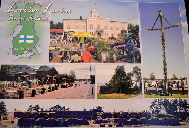 Ett Lovisa-vykort.